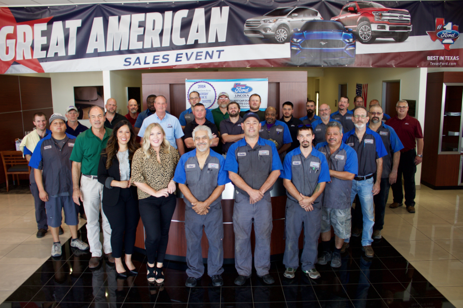 The Team At La Grange Ford Lincoln In La Grange, TX